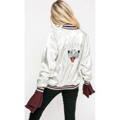 Levi's - Kurtka bomber dwustronna. Brązowe kurtki damskie Levi's, z bawełny. W wyprzedaży za 339.90 zł.