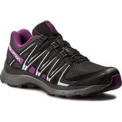Buty SALOMON - Xa Lite W 394655 20 V0 Black/Magnet/Grape Juice. Czarne obuwie sportowe damskie Salomon, z materiału. W wyprzedaży za 319.00 zł.