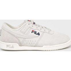 Fila - Buty Original Fitness S Low. Szare obuwie sportowe damskie Fila, z gumy. W wyprzedaży za 299.90 zł.