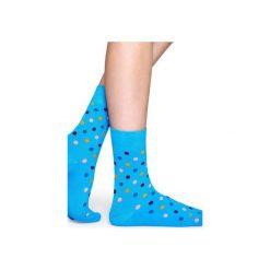 Skarpetki Happy Socks  DOT01-6002. Szare skarpety męskie Happy Socks, z bawełny. Za 20.00 zł.