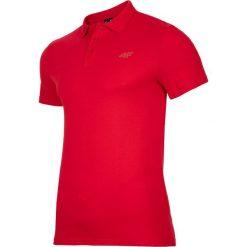 Koszulka polo męska TSM301 - czerwony. Koszulki polo męskie marki INESIS. Za 69.99 zł.