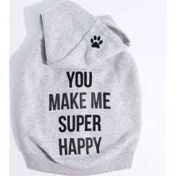 Bluza dla psa Little Friends - Szary. Szare bluzy damskie Mohito. Za 69.99 zł.