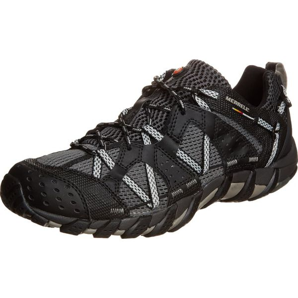 e8a7acb205c9c Merrell WATERPRO MAIPO Obuwie hikingowe black - Buty sportowe męskie ...