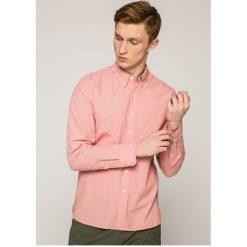 Levi's - Koszula. Brązowe koszule męskie Levi's, w kratkę, z bawełny, button down, z długim rękawem. W wyprzedaży za 129.90 zł.