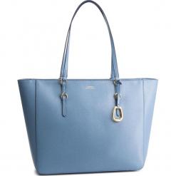 Torebka LAUREN RALPH LAUREN - Bennington 431687507015 Blue. Niebieskie torebki do ręki damskie Lauren Ralph Lauren, ze skóry. Za 1,089.00 zł.