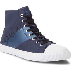 Trampki CALVIN KLEIN JEANS - Antani SE8591  Navy/Metal Blue. Niebieskie trampki męskie Calvin Klein Jeans, z gumy. Za 569.00 zł.