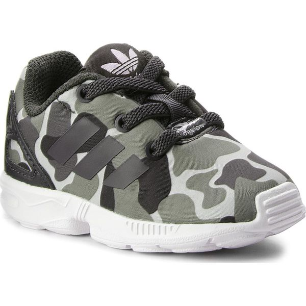 best sell run shoes purchase cheap Buty adidas - Zx Flux El I AQ1744 Carbon/Carbon/Ftwwht