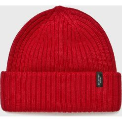Selected - Czapka. Czerwone czapki i kapelusze męskie Selected. W wyprzedaży za 99.90 zł.