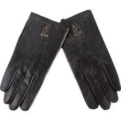 Rękawiczki Damskie TRUSSARDI JEANS - Gloves 57Z00008 K299. Czarne rękawiczki damskie TRUSSARDI JEANS, z jeansu. W wyprzedaży za 179.00 zł.