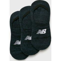 New Balance - Skarpetki (3-pack). Czarne skarpety damskie New Balance, z elastanu. W wyprzedaży za 39.90 zł.