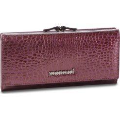 Duży Portfel Damski MONNARI - PUR0622-014 Violet. Czerwone portfele damskie Monnari, z lakierowanej skóry. W wyprzedaży za 179.00 zł.