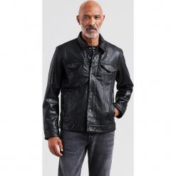 """Skórzana kurtka """"The Trucker"""" w kolorze czarnym. Czarne kurtki męskie Levi's, ze skóry. W wyprzedaży za 652.95 zł."""