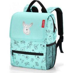 Plecak Reisenthel Kids, Cats and Dogs miętowy. Zielone torby i plecaki dziecięce Reisenthel, z materiału. Za 139.00 zł.