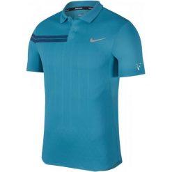Nike Męska Koszulka Sportowa Z Kołnierzem Rf M Nkct Adv Polo Ps Neo Turq Metallic Silver 2xl. Szare koszulki polo męskie Nike. Za 329.00 zł.