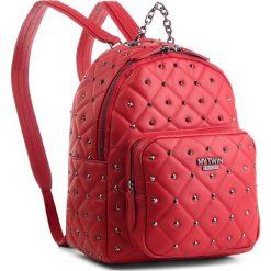 Plecak MY TWIN - Zaino RA8TCN  Papaver 00456. Czerwone plecaki damskie My Twin, ze skóry ekologicznej, eleganckie. Za 819.00 zł.