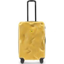 Walizka Stripe średnia Mustard Yellow. Walizki męskie Crash Baggage. Za 1,225.00 zł.