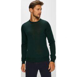 G-Star Raw - Sweter. Czarne swetry przez głowę męskie G-Star Raw, z dzianiny, z okrągłym kołnierzem. Za 399.90 zł.
