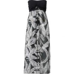 Sukienka plażowa bonprix czarno-biały. Sukienki damskie marki DOMYOS. Za 99.99 zł.