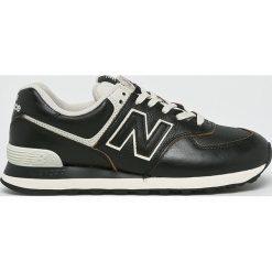 New Balance - Buty ML574LPK. Szare buty sportowe męskie New Balance, z gumy. Za 399.90 zł.
