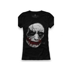 Koszulka UNDERWORLD Ring spun cotton Jocker. Czarne t-shirty damskie Underworld, z nadrukiem, z bawełny. Za 59.99 zł.
