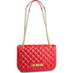 Torebka LOVE MOSCHINO - JC4003PP17LA0500  Rosso. Czerwone torebki do ręki damskie Love Moschino, ze skóry ekologicznej. Za 919.00 zł.