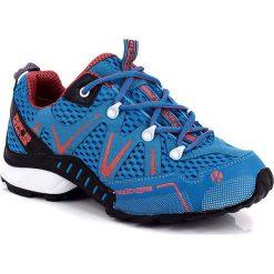 """Buty """"Trail"""" w kolorze niebieskim do biegania. Buty sportowe męskie Kimberfeel, z gumy. W wyprzedaży za 301.95 zł."""