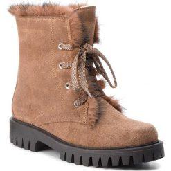 Trapery POLLINI - SA21213H06TG120A W.Ankle Boot. Brązowe śniegowce i trapery damskie Pollini, ze skóry. W wyprzedaży za 1,489.00 zł.