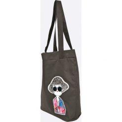 Answear - Torebka. Szare torby na ramię damskie ANSWEAR. W wyprzedaży za 34.90 zł.