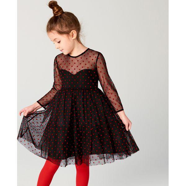 0c8d9b50dd Tiulowa sukienka dla dziewczynki little princess - Czarny - Sukienki ...