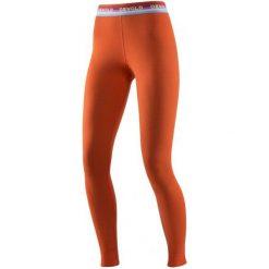 Devold Spodnie Damskie Hiking Woman Long Johns Brick L. Pomarańczowe spodnie sportowe damskie Devold, ze skóry. W wyprzedaży za 215.00 zł.