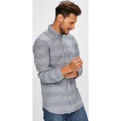 Selected - Koszula. Szare koszule męskie Selected, z bawełny, button down, z długim rękawem. W wyprzedaży za 139.90 zł.