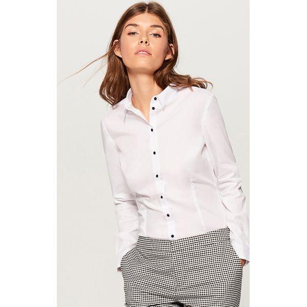 3b7bd73e7f80d5 Koszula z body - Biały - Koszule damskie Mohito. Za 89.99 zł ...