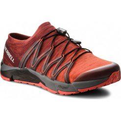 Buty MERRELL - Bare Access Flex Knit J12539  Red. Brązowe buty sportowe męskie Merrell, z materiału. W wyprzedaży za 339.00 zł.