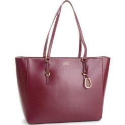 Torebka LAUREN RALPH LAUREN - Bennington 431687507012  Merlot. Czerwone torebki do ręki damskie Lauren Ralph Lauren, ze skóry. Za 1,089.90 zł.