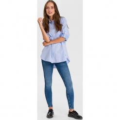 """Dżinsy """"Giselle - Super Skinny fit - w kolorze niebieskim. Niebieskie jeansy damskie Cross Jeans. W wyprzedaży za 136.95 zł."""