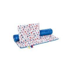 BOCIOLAND 75x100 kocyk + 35x30 poduszka zestaw minky Bałtyk. Kocyki dla dzieci marki Pulp. W wyprzedaży za 40.99 zł.