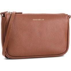 Torebka COCCINELLE - CV3 Mini Bag E5 CV3 55 E1 07 Brule W74. Brązowe listonoszki damskie Coccinelle, ze skóry. W wyprzedaży za 489.00 zł.