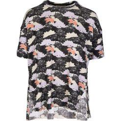 """Koszulka """"Aixa"""" w kolorze czranym ze wzorem. T-shirty damskie Frieda Sand, z bawełny, z okrągłym kołnierzem, z krótkim rękawem. W wyprzedaży za 108.95 zł."""