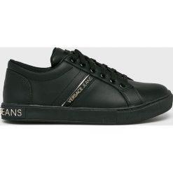 Versace Jeans - Buty. Czarne obuwie sportowe damskie Versace Jeans, z jeansu. Za 699.90 zł.