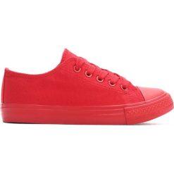 Czerwone Trampki Scholastic Trip. Czerwone buty sportowe dziewczęce Born2be, z materiału. Za 24.99 zł.