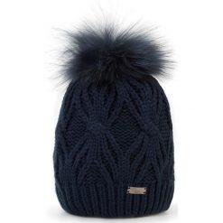 Czapka damska 87-HF-017-7. Czarne czapki i kapelusze damskie marki Sinsay. Za 129.00 zł.