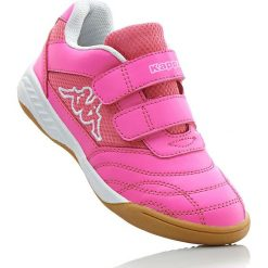 Buty sportowe Kappa bonprix różowo-biały. Buty sportowe chłopięce marki bonprix. Za 89.99 zł.