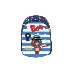 Plecak Dziecięcy Duży Captain Bear. Szare torby i plecaki dziecięce Eurocom. Za 40.78 zł.