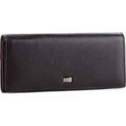 Duży Portfel Damski NOBO - NPUR-LG0140-C020 Czarny. Czarne portfele damskie Nobo, ze skóry. W wyprzedaży za 159.00 zł.