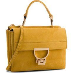Torebka COCCINELLE - CD6 Arlettis Suede E1 CD6 55 B7 01 Spark J00. Żółte torebki do ręki damskie Coccinelle, ze skóry. W wyprzedaży za 799.00 zł.
