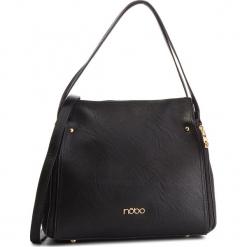 Torebka NOBO - NBAG-F0060-C020 Czarny. Czarne torebki do ręki damskie Nobo, ze skóry ekologicznej. W wyprzedaży za 159.00 zł.