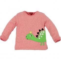 """Bluza """"Dino"""" w kolorze jasnoróżowym. Czerwone bluzy dla dziewczynek Bondi, z aplikacjami, z bawełny. W wyprzedaży za 45.95 zł."""