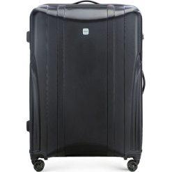 Walizka duża 56-3P-915-10. Brązowe walizki damskie Wittchen, z gumy. Za 319.00 zł.