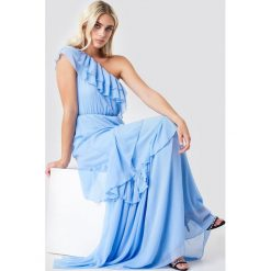 Trendyol Sukienka maxi na jedno ramię - Blue. Sukienki damskie Trendyol. Za 283.95 zł.