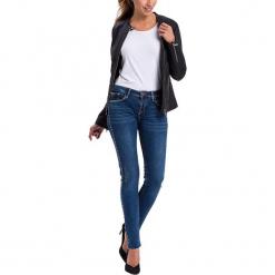 """Dżinsy """"Adriana"""" - Skinny fit - w kolorze granatowym. Niebieskie jeansy damskie Cross Jeans. W wyprzedaży za 136.95 zł."""